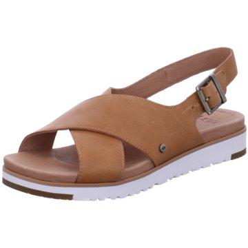 UGG Australia Sandale braun