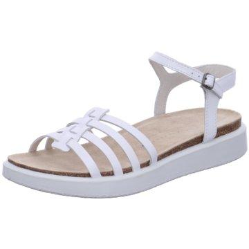Ecco Komfort Sandale weiß