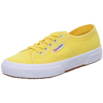 Superga Sneaker Low gelb
