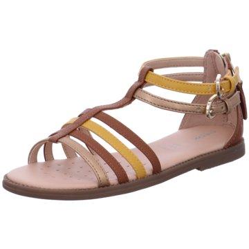 Geox Offene Schuhe braun