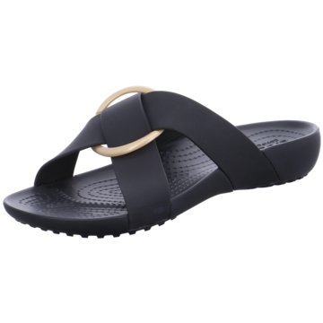 CROCS Pool Slides schwarz