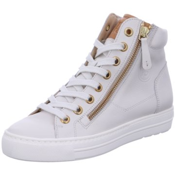 Paul Green Sneaker High4024 weiß
