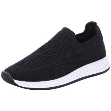 La Strada Sportlicher Slipper schwarz
