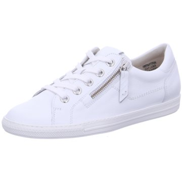 Paul Green Komfort SchnürschuhSneaker weiß