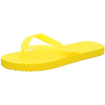 Flip-Flop Bade-Zehentrenner gelb