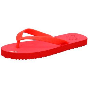 Flip-Flop Bade-Zehentrenner rot
