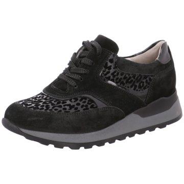 Waldläufer Honora Schnürstiefel schwarz: : Schuhe