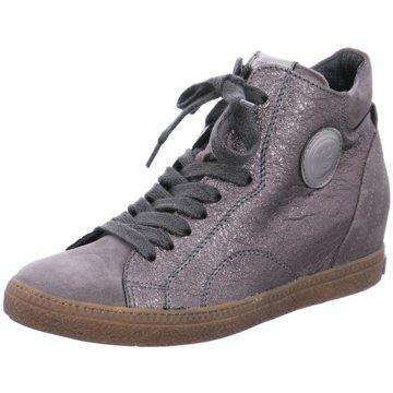 Paul Green Sneaker Wedges silber