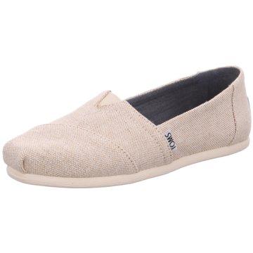 TOMS Komfort Slipper beige