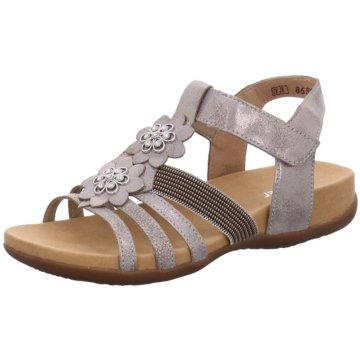 Rieker Offene Schuhe grau
