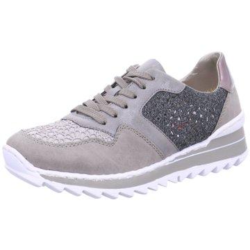 Rieker Sportlicher SchnürschuhSneaker grau