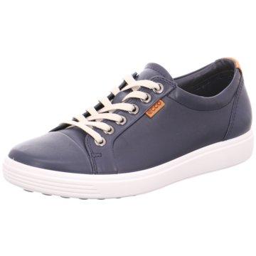 Damen Ecco Schuhe blau