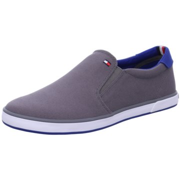 Tommy Hilfiger SlipperIconic Slip On Sneaker grau