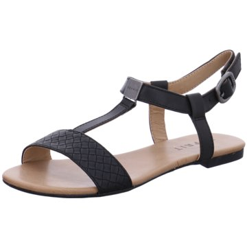 Esprit SandalePepe Woven schwarz