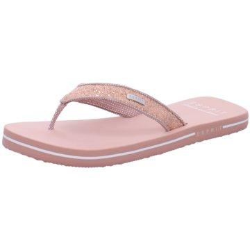 Esprit Bade-ZehentrennerGlitter Thongs rosa
