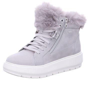 Geox Sneaker HighD KAULA B ABX D - NBK LEA grau