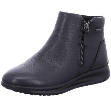 Ecco Komfort Stiefelette schwarz