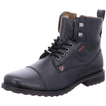 Bugatti Boots Collection schwarz