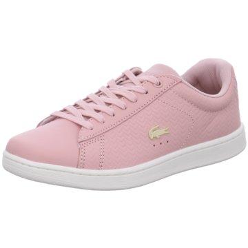 Lacoste Casual Basics rosa