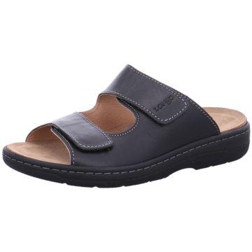 Longo Komfort SchuhLongo G schwarz