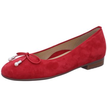 ara Klassischer Ballerina rot