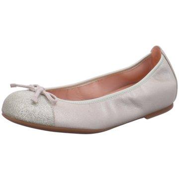 Unisa Klassischer Ballerina silber