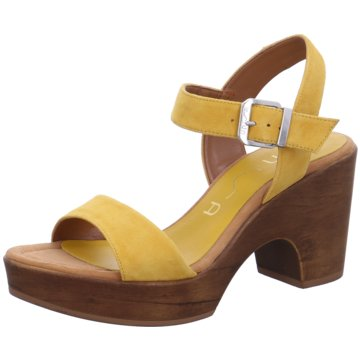 Unisa Sandalette gelb