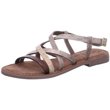 Lazamani Sandale silber