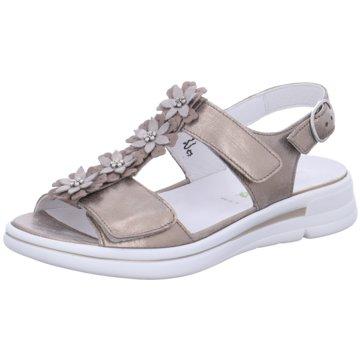 Waldläufer Komfort Sandale beige