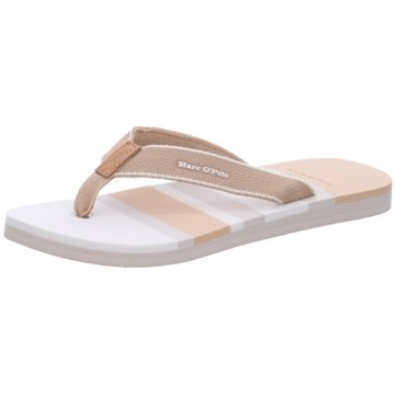 Marc O'Polo Bade-Zehentrenner beige