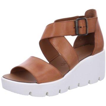 Paul Green Top Trends Sandaletten braun