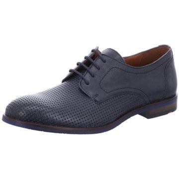 Lloyd Eleganter Schnürschuh blau