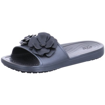 CROCS Pool Slides silber