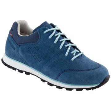 Dachstein Sportlicher Schnürschuh blau