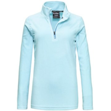 Killtec RollkragenpulloverTHÔNES WMN FLEECE SHRT - 3575100 809 blau
