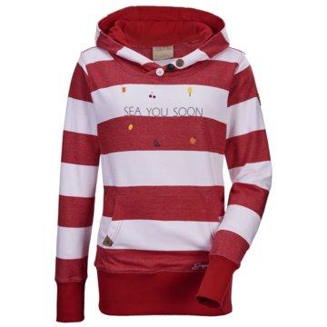 Killtec SweatshirtsBELO WMN SWEAT SHRT B STRIPE  - 3682700 rot