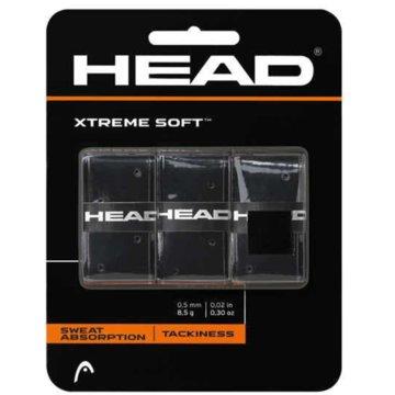 Head ZubehörXTREMESOFT GRIP 3 PCS PACK (OVERGRI - 285104 schwarz