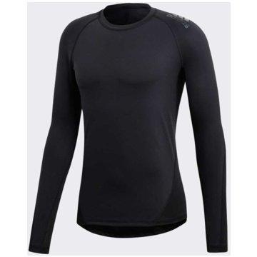 adidas FunktionsshirtsAlphaskin Sport Longsleeve - CF7267 schwarz