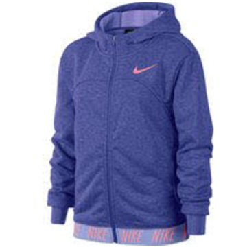 Nike Sweatjacken lila