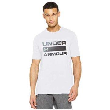 Under Armour T-Shirts TEAM ISSUE WORDMARK KURZARM-OBERTEIL - 1329582 weiß