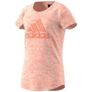 adidas T-Shirts lachs