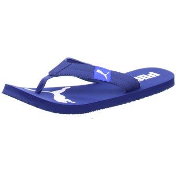 Puma Bade-Zehentrenner blau