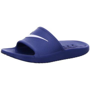 Nike Offene SchuheNike Kawa Shower Little/Big Kids' Slide - BQ6831-001 blau