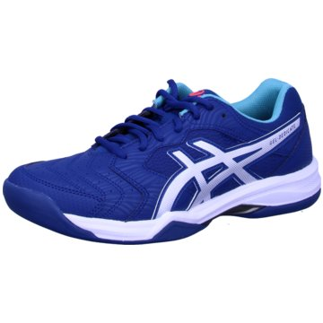 asics OutdoorGEL-DEDICATE 6 INDOOR - 1041A081 blau