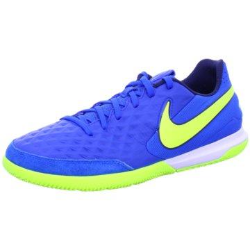 Nike Hallen-SohleNike Tiempo Legend 8 Academy IC Indoor/Court Soccer Shoe - AT6099-474 blau