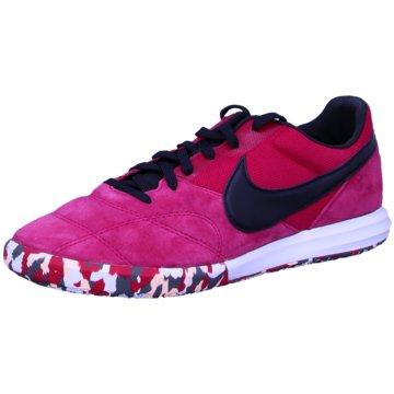 Nike Hallen-SohleThe Nike Premier II Sala rot
