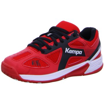 Kempa Trainings- und Hallenschuh rot