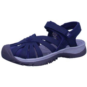 Keen Komfort Sandale blau