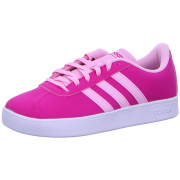 adidas Sneaker LowVL COURT 2.0 K - F36382 pink