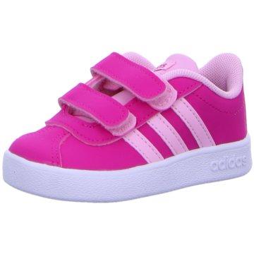 adidas Kleinkinder MädchenVL COURT 2.0 CMF I - F36406 pink